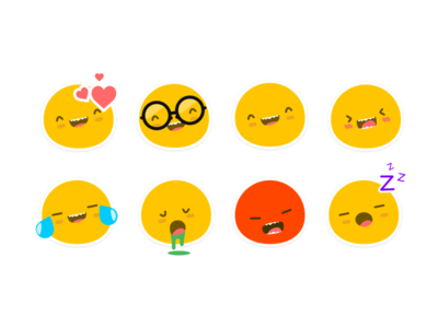 Kolobok: iMessage Sticker Pack colorful cute kolobok simple stickers emoji stickers messages ios 10 sticker pack emoji sticker