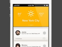 Untitled iOS Weather App