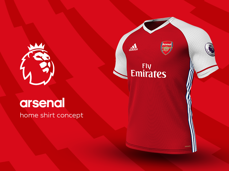 Arsenal Home Shirt by adidas. by Daniel Watts ... dff06313b