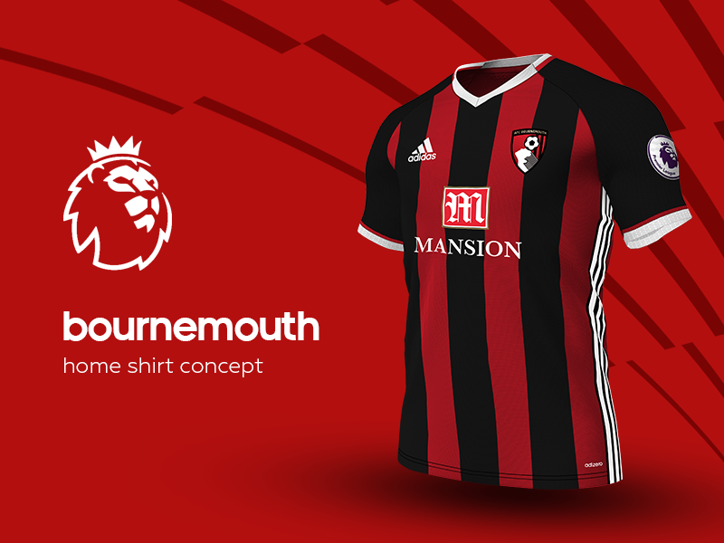 Bournemouth Home Shirt by adidas soccer jersey kit football adidas premier league bournemouth