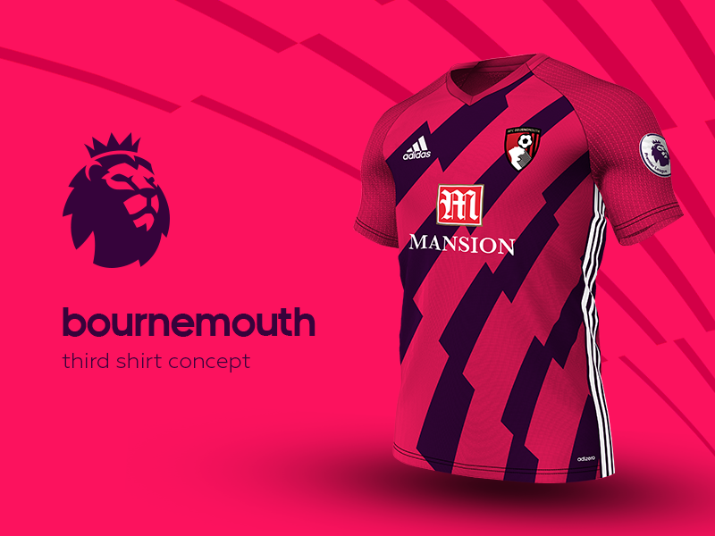 Bournemouth Third Shirt by adidas soccer jersey kit football adidas premier league bournemouth
