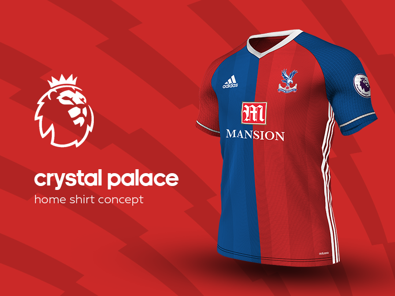 2ce625c3b Crystal Palace Home Shirt by adidas soccer jersey kit football adidas  premier league crystal palace