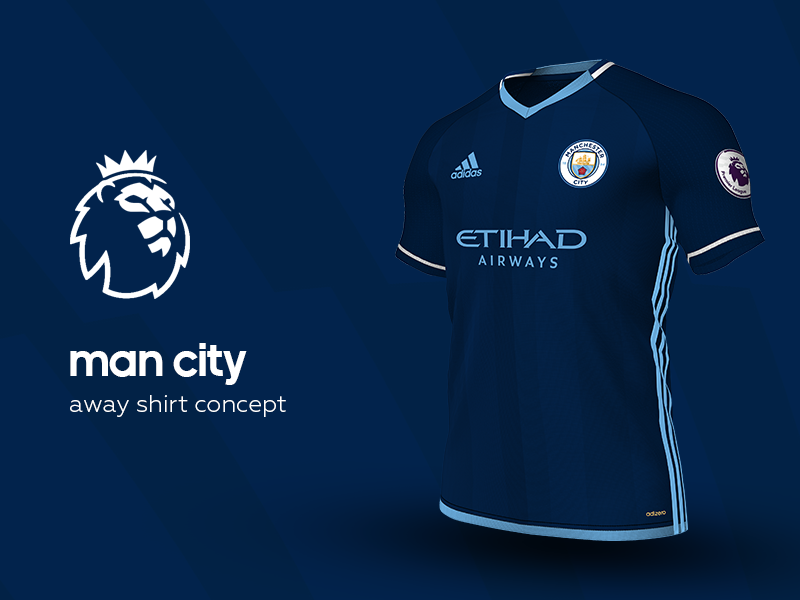 2b21fd62cff Man City Away Shirt by adidas soccer jersey kit football adidas premier  league man city