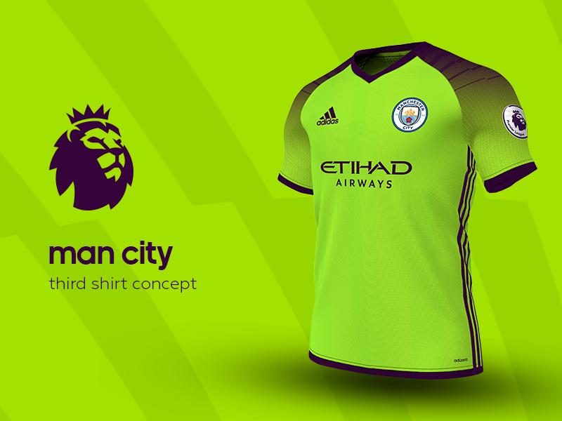 728446e1d8d Man City Third Shirt by adidas soccer jersey kit football adidas premier  league man city
