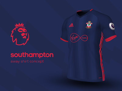 Southampton Away Shirt by adidas southampton premier league adidas football kit jersey soccer
