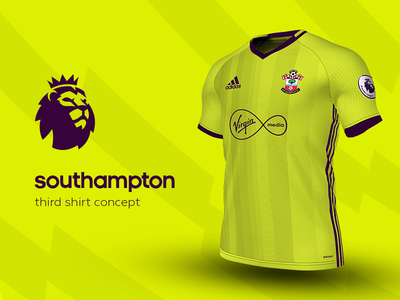 Southampton Third Shirt by adidas southampton premier league adidas football kit jersey soccer