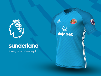 Sunderland Away Shirt by adidas sunderland premier league adidas football kit jersey soccer