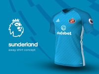 Sunderland Away Shirt by adidas