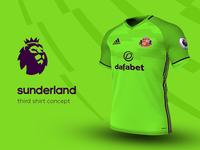 Sunderland Third Shirt by adidas
