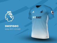 Swansea Away Shirt by adidas