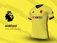 Watford Home Shirt by adidas