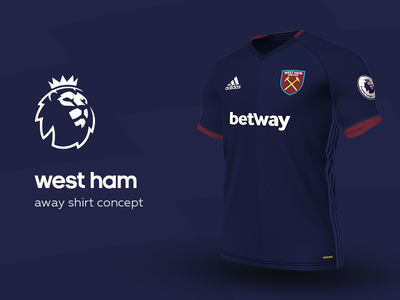 West Ham Away Shirt by adidas west ham premier league adidas football kit jersey soccer