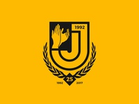 The JJ's 25th Anniversary Crest