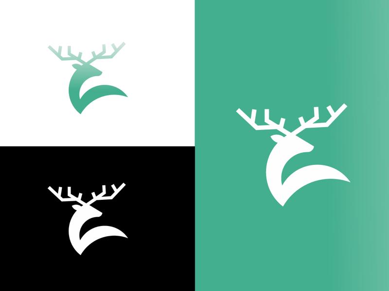 deer logo deer logo