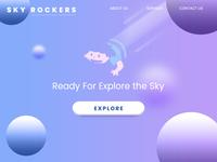 Sky Rockers Landing Page