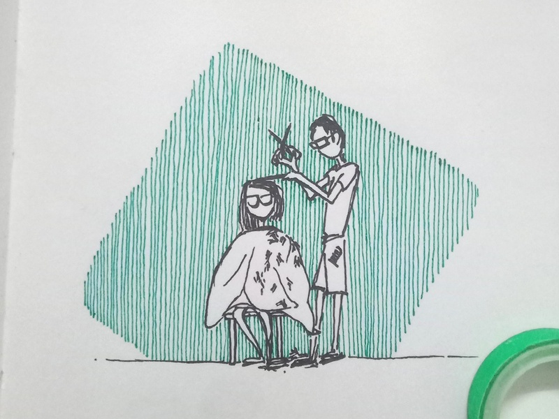 Haircut Doodle