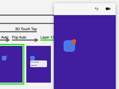 Pop Context Menu (iOS 3D Touch-esque) principle context menu pop gif 3d touch ios