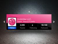 Rotweet: 3D Twitter Module