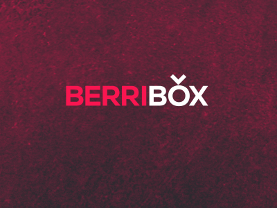 Berribox: The logo berribox logo pink texture purple nexa product