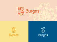 Burgas Contest Entry branding symbol graphic monogram logotype mark manolov ivan logo design
