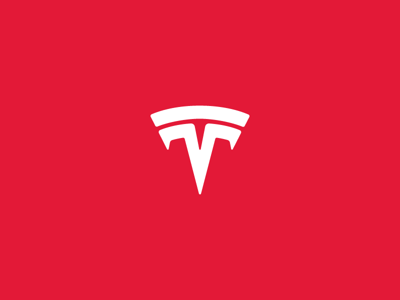 Tesla logo auto cars car motors monogram logotype facelift t logo tesla
