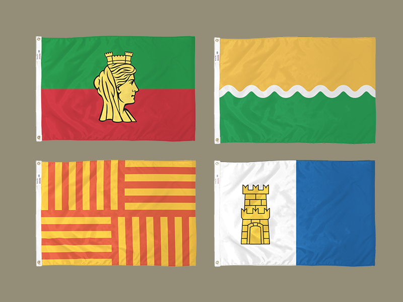 Bulgarian City Flags redesign dobrich plovdiv sofia burgas vexillology redesign flag city bulgarian
