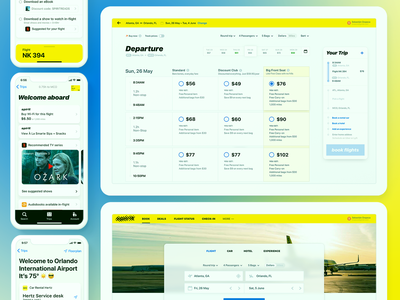 Airline digital experience airplane uiux ux design airline ux ui mojotech typography manolov ivan design