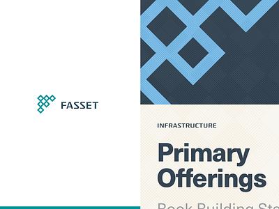 Fasset assets financial finance identity design identity branding brand mojotech illustration vector logotype mark logo design