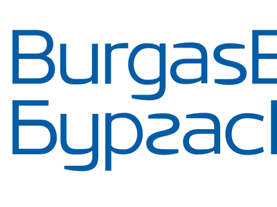 Burgasbus entry typography