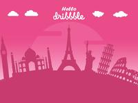 Debut - Hello Dribbble!