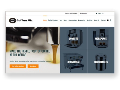 Coffeebiz Homepage