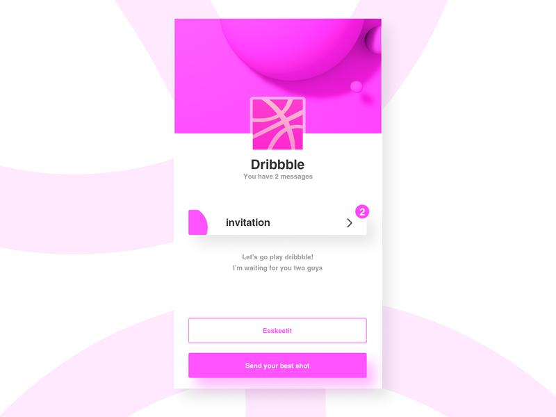 Invite 邀请 邀请码 dribbble invitation dribbble invites invite2 invitation card