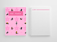 Notebook Cover Pattern Design