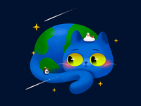 Galaxy Kitty : Earth