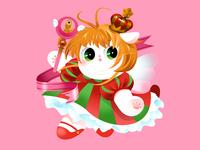 Anime Kitty : Sakura
