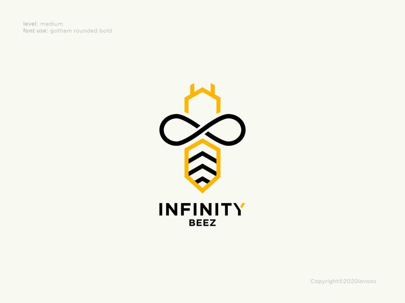 Infinity Beez Logo Concept