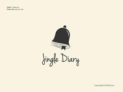 Jingle Diary Logo Concept professional logodesigner designer graphicdesign branding design brand identity brand customlogo freelance logoawesome logoconcept logoinspirations logoinspiration logoinspire logoidea logos branding illustration design logo