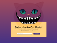 DailyUI#026 - Subscribe