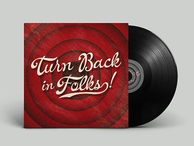 Turn Back In Folks classic retro vintage lettering script cursive fonts font