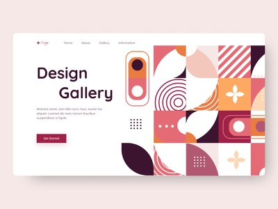 Design Header header digital logo vector gallery branding abstract ui ux creative website trending design design web design landing page