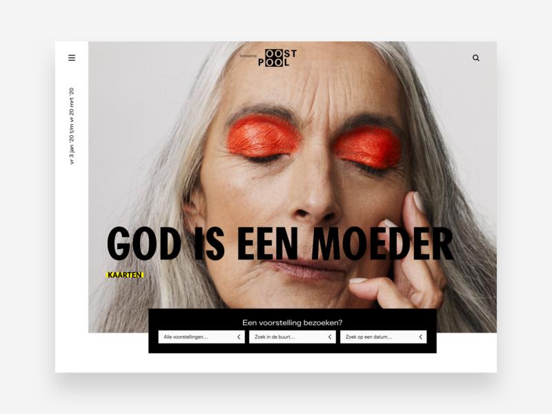 Toneelgroep Oostpool - web design