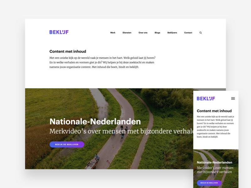 Beklijf - web design & photography