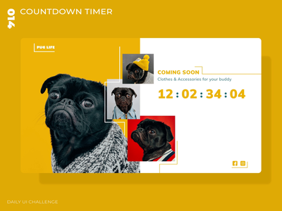 Daily UI Challenge - 014 - Countdown Timer