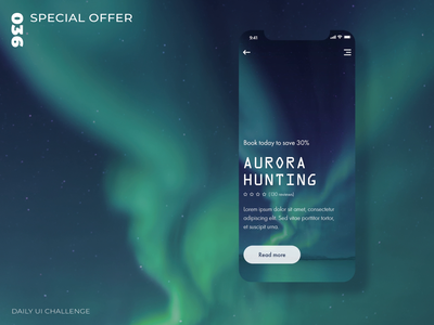 Daily UI Challenge - 036 - Special offer