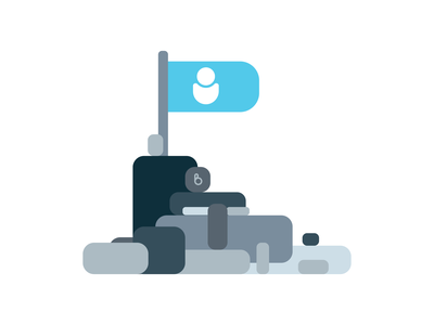 #TeamHuman flat modern minimal bold vector illustration design sticker advertisment movement social