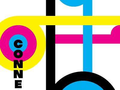 CYMK Poster #2 composition typography poster magenta black yellow cyan cmyk graphic design graphicdesign logo illustration branding vector simple design minimal flat bold modern