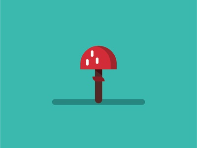 Mushroom design vector illustration