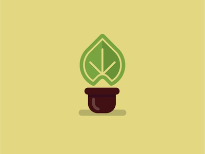 Plant vector design illustration