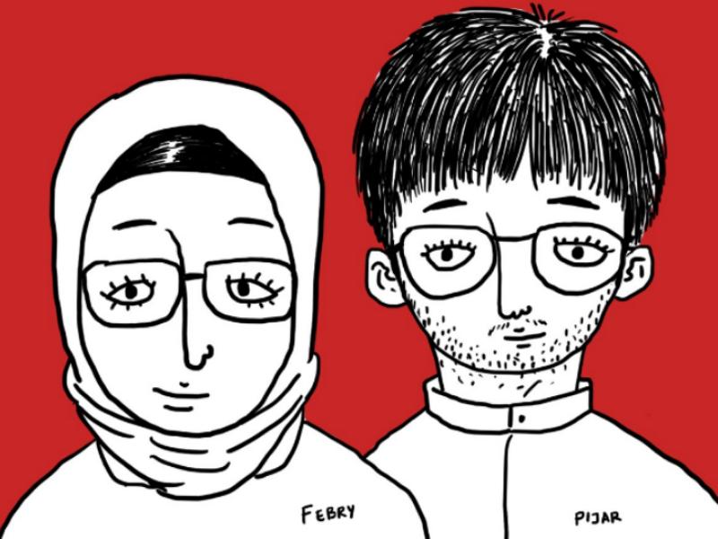 Happy Eid Mubarak simpleillustration outline eidmubarak artwork illustration