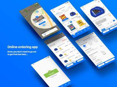 (Concept) Online ordering app